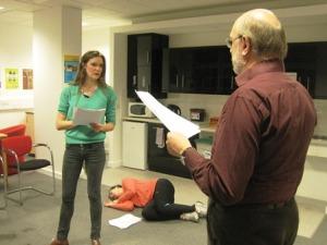 Cleopatra Rehearsal Act 2 Scene 2 - 2