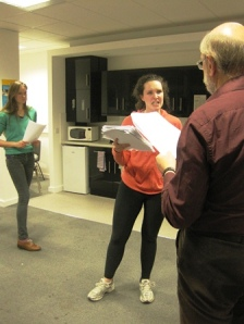 Cleopatra Rehearsal Act 2 Scene 2 - 7