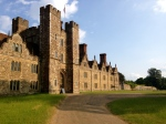 The evening light was beautiful as our audience arrived at Knole.